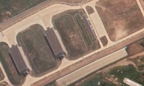 Возле Великой Китайской стены обнаружили неизвестный военный объект
