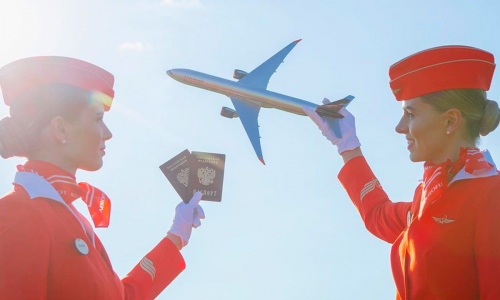 «Аэрофлот» начал распродавать авиабилеты за полцены
