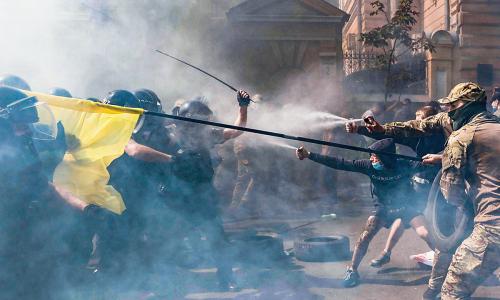 На Украине задумались о наказании для жителей Донбасса за участие в выборах