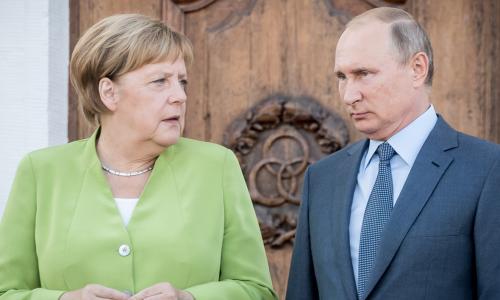 В США назвали наказанием «прощальный подарок» Путина для Меркель